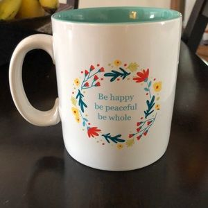 Be Happy Be Peaceful Be Whole Jumbo Coffee Mug